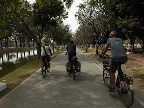 Photo: Auf Entdeckungstour in Sukhothai mit Dominic & Silvio