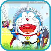 Guide for Delta BBM Theme Doraemon by DELTALabs