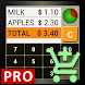 SHOP CALC Pro: Shopping List