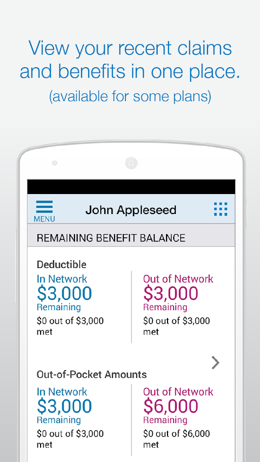 Empire BlueCross BlueShield- screenshot