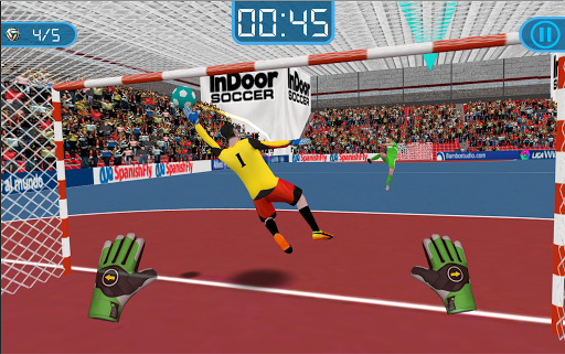 Soccer Goalkeeper Futsal