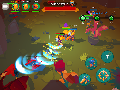 Space Pioneer: Action RPG PvP Alien Shooter 1.13.0 screenshots 7