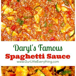 Daryl's Famous Spaghetti Sauce