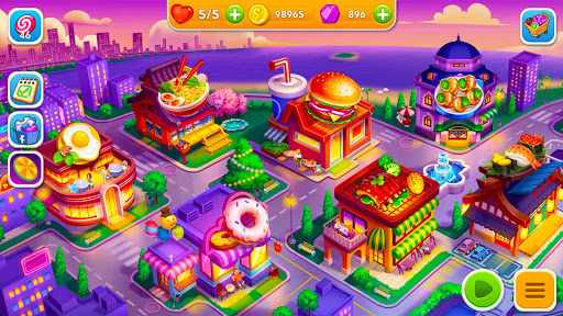 Cooking Frenzy: A Crazy Chef in Restaurant Games modavailable screenshots 8