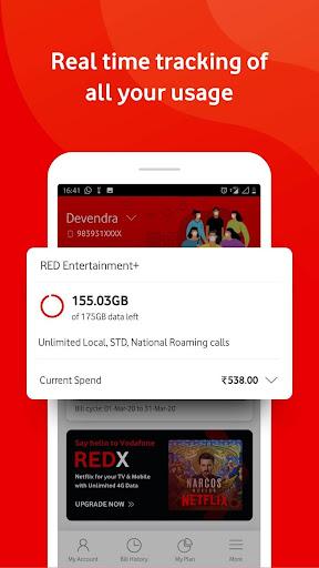 MyVodafone India u2013 Mobile Recharge & Bill Payments  screenshots 6