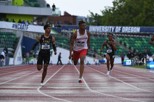 UH men's track and field team concludes 2021 outdoor season
