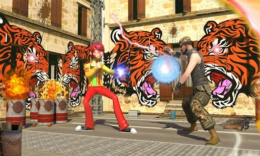 Ben Flash Hero Street Ultimate Fighting - náhled