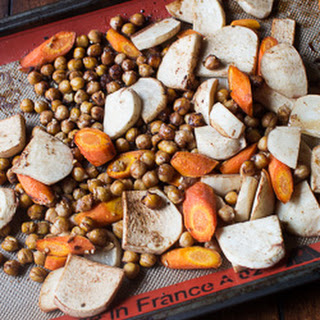 Maple and Balsamic Roasted Root Vegetables