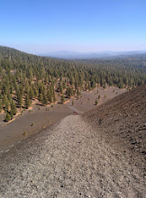 Photo: Climbing Cinder Cone