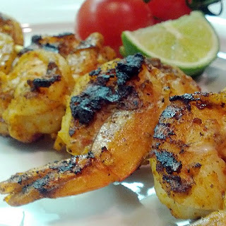 Tangy and Spicy Grilled Shrimp Kabobs