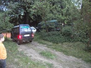 Photo: ....sind leichtere Forstarbeiten,zwecks Lagerfeuerholzbeschaffung,durchaus möglich.....