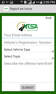 NTSA  APP screenshot 2