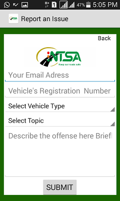 NTSA  APP - screenshot
