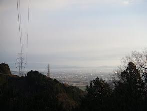 鉄塔下から北東方面の展望