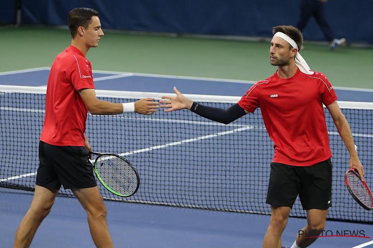 Gillé en Vliegen missen setballen en verslikken zich in Nederlands-Kroatisch duo in kwartfinales dubbelspel US Open