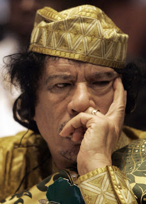 Wolf in Shepherds Clothing: Gadhafi Blames al Qaeda and Arms Supporters