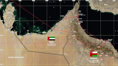 Photo: CB140000 trasa wycieczki ZEA-Oman