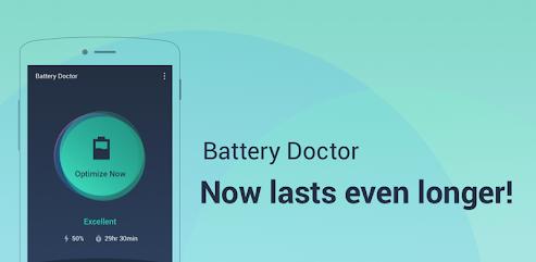 دانلود برنامه Battery Doctor-Battery Life Saver & Battery Cooler