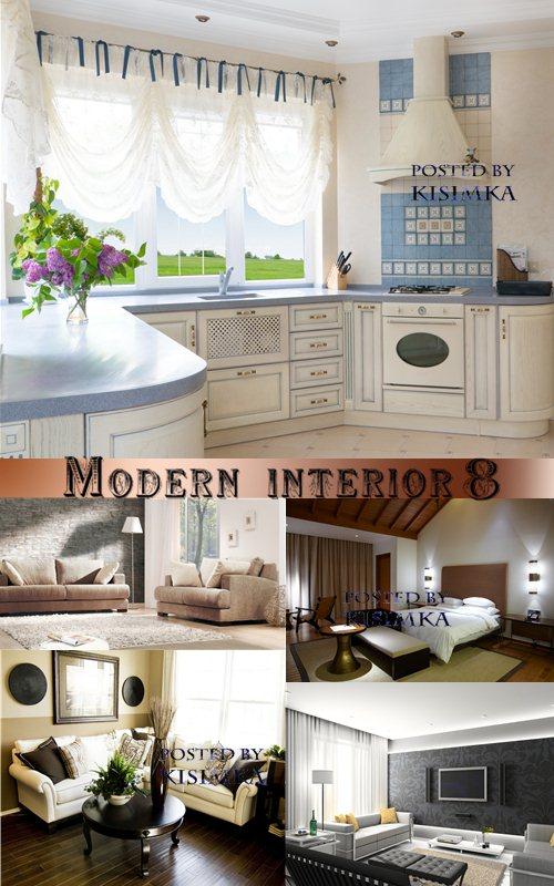 Stock Photo: Modern interior 8