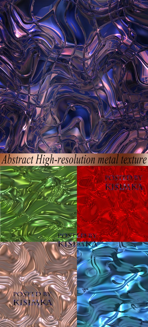 Stock Photo: Abstract High-resolution metal texture