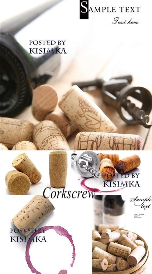 Stock Photo: Corkscrew