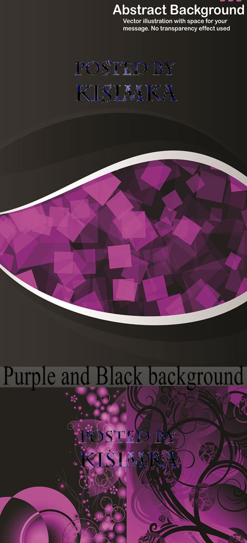 Stock:Purple and Black background