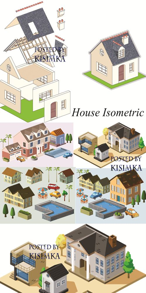 Stock: House Isometric