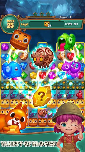 Jewels fantasy : match 3 puzzle 1.0.34 7