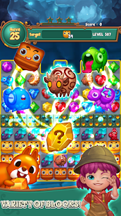 Jewels fantasy : match 3 puzzle 5