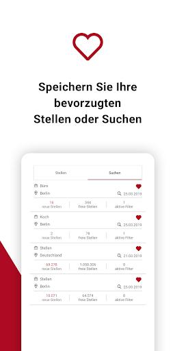 Jobsuche – die neue JOBBÖRSE 2.6.0 screenshots 5