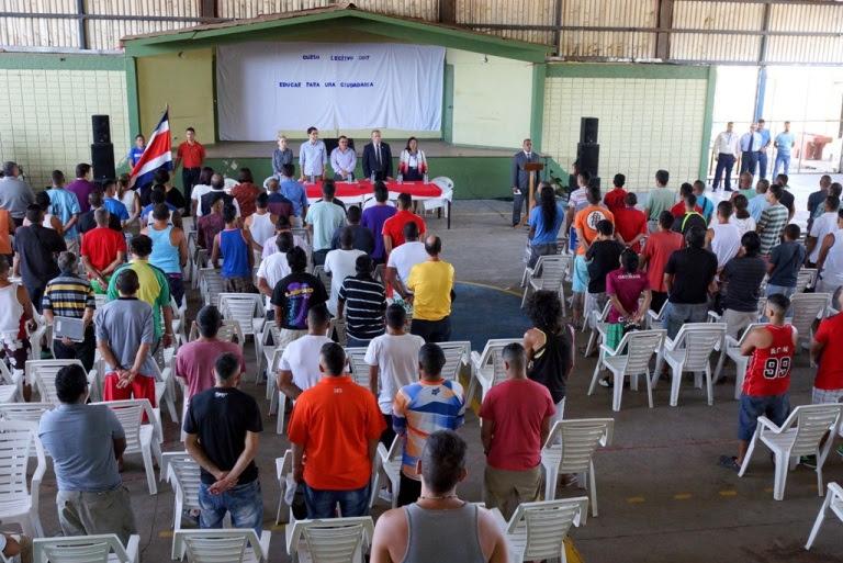 Imagen INAUGURACIÓN DEL CURSO LECTIVO EN CENTROS PENALES