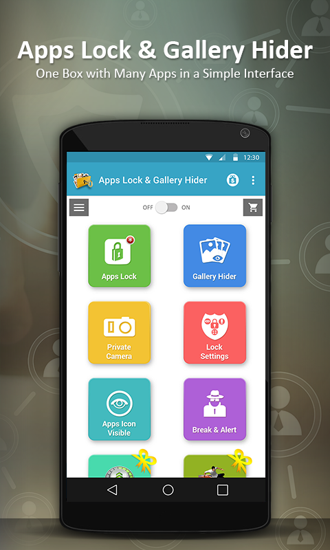 Apps Lock & Gallery Hider- screenshot