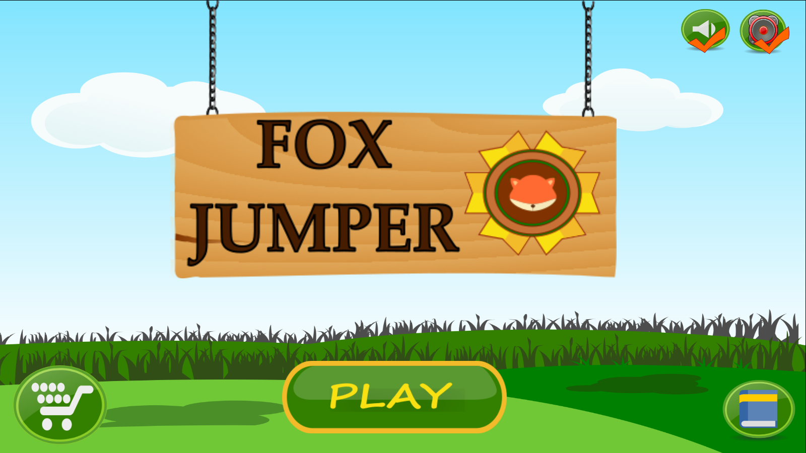 Fox Jumper: captura de pantalla