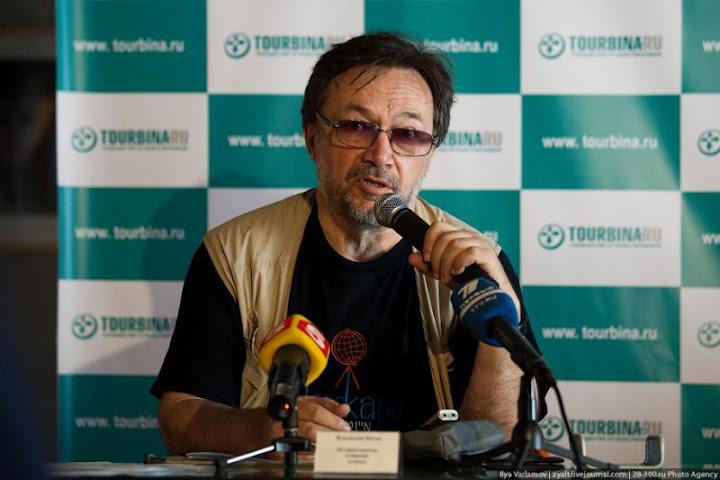 Konferensi pers Vladislav Ketov