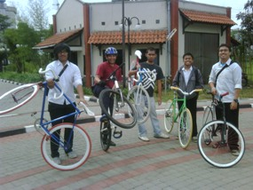 Bike to campus