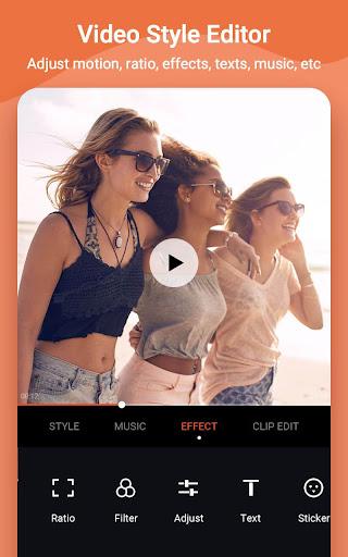 Video Maker Editor & MV Video Master - VidArt android2mod screenshots 3