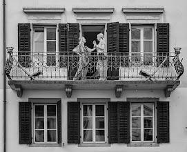 Photo: smaltalk  #gplusanniversary  #GPlusAnniversaryLuzern  #luzern06302012  #street #streettogs #streetphotography #shootthestreet #blackandwhite #bw #monochrome
