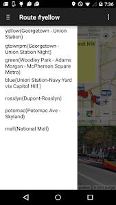 My DC Next Bus screenshot 3