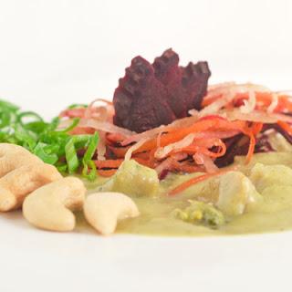 Green Curry Broccoli Soup - Pt.1 - Creamy