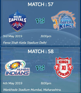Download IPL 2019 Schedule || Live Match Score, IPL Live For PC Windows and Mac apk screenshot 3