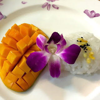 57 Coconut Sticky Rice with Mango