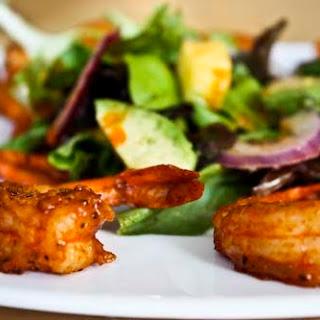 Spicy Shrimp Salad with Mango, Avocado, and Lime Vinaigrette