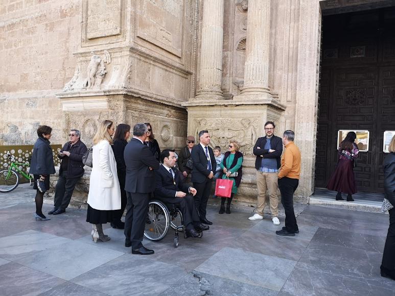 El PSOE tampoco entró este año en la Catedral.