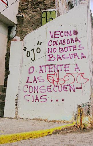 Vecinos por el medio ambiente contra el abuso de la basura en Calero (La Candelaria, Caracas, Venezuela)