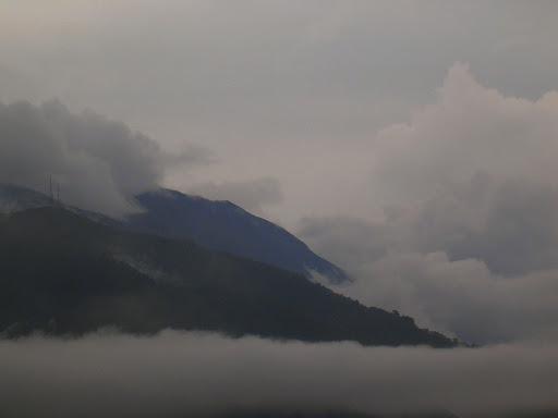 Cerro El Avila envuelto en la neblina del Viernes Santo Caracas, Venezuela