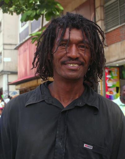 Hombre en situación de calle Bulevar de Sabana Grande Caracas Venezuela