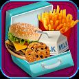 School Lunch Maker - Kids Food & Snacks Games