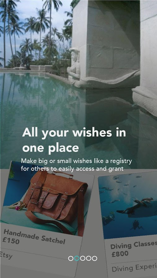 Wisher - where wishes happen- screenshot