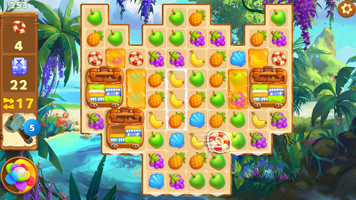 Tropical Forest: Match 3 Story  Wallpaper 8