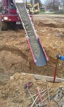 Photo: Concrete for Foundation 05-16-14